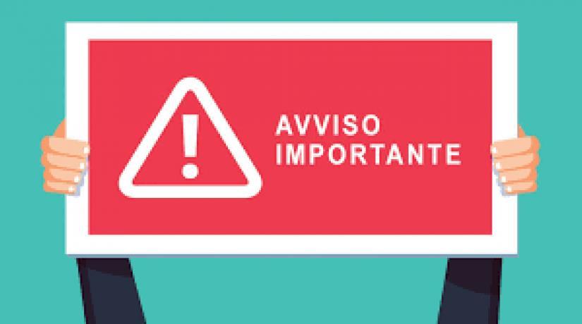 AVVISO IMPORTANTE – Attività didattiche a distanza (DDI in forma esclusiva): 7-14 Aprile 2021