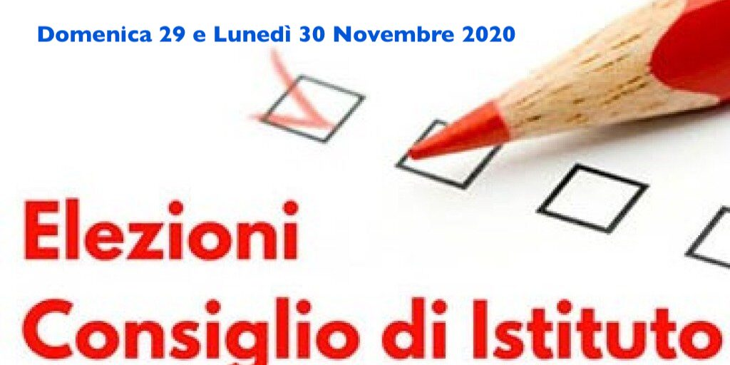 Risultati elezioni Consiglio d'Istituto: 29-30 Novembre 2020