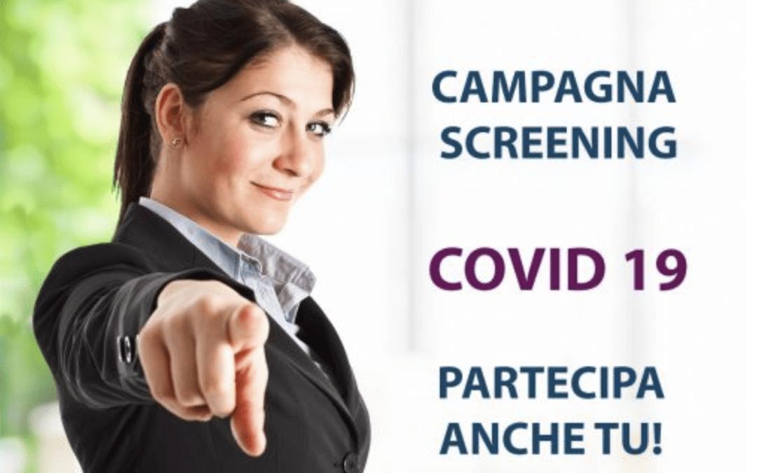 Screening anti-Covid19 a favore di Studenti e Personale scolastico 3 Maggio 2021