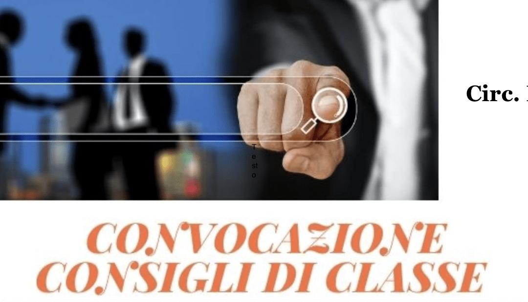 Consigli di classe (online) per andamento didattico e libri di testo