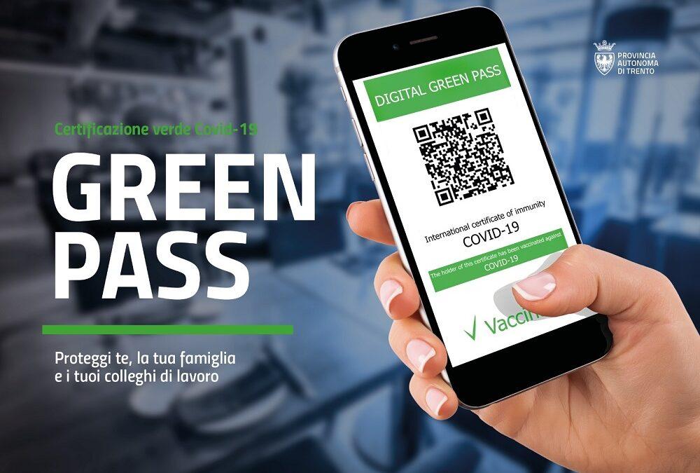Informativa per trattamento dati personali e verifica Certificazione verde Covid-19 all'accesso dei locali