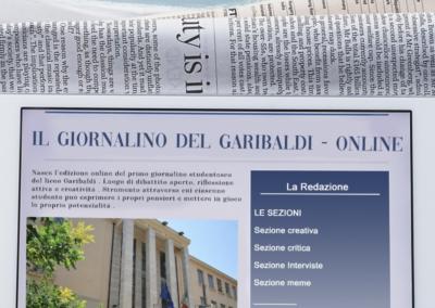 """#IlGaribaldiNonSiFerma: Progetto """"Scrittura creativa"""" e Giornalino"""
