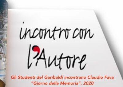 """Gli Studenti del Garibaldi in """"Incontro con l'autore"""": Claudio Fava"""